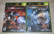 Mechassault 1 & 2 XBOX Brand new and factory sealed original version black label