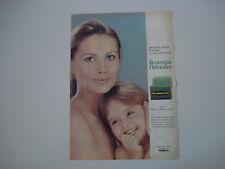 advertising Pubblicità 1967 SAPONE PALMOLIVE