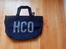 NWT Hollister HCO Navy Tote Shopper Book Bag Navy