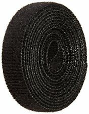 "Onewrap Velcro Self Gripping Strap Hook and Loop 5' Length 1/2"" Wide Nylon Black"