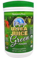 NEW NATURE'S PLUS ULTRA JUICE GREEN POWDER GLUTEN FREE YEAST FREE DAILY CARE