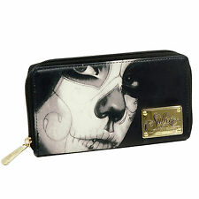 SULLEN CLOTHING ANGELS LOVED DAY OF DEAD WALLET WOMENS MOTORCYCLE LADIES GOTH