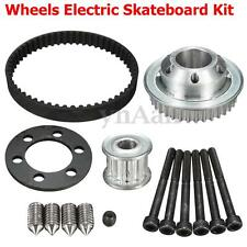 Pulleys And Motor Mount DIY Parts For 83/90/97MM Wheels Electric Skateboard Kit