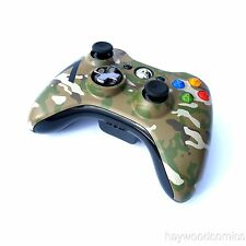 Official Microsoft XBox 360 CAMOFLAUGE WIRELESS CONTROLLER - Tested!