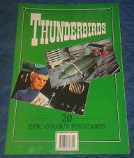 1993 Thunderbirds 20 CARTOLINE A COLORI IN LIBRETTO TB 1 2 3 4 5 fab1 Tracy