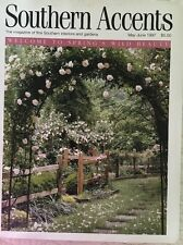 SOUTHERN ACCENTS MAGAZINE MAY/JUNE 1997~WELCOME TO SPRING'S BEAUTY~FREE SHIPPING