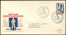 Netherlands 1965 Marine Corps FDC First Day Cover #C27242