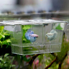 Aquarium Fish Tank Guppy Double Breeding Breeder Rearing Trap Box Hatchery Gift