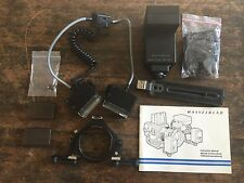 HASSELBLAD MACRO FLASH UNIT 2802 M/C WITH BRACKET AND ALL PIECES 553ELX 503CW