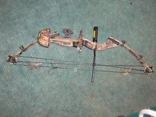 "HOYT USA INTRUDER COMPOUND HUNTING BOW CAMO 60-70LB 28"" RAPTOR w/ Sight Rest"