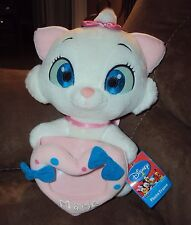 Aristocats Marie Disney Stuffed Plush White Cat Heart Photo Frame Valentine SEGA