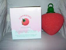 Strawberry Vibrating Sponge Bath Shower Massager,beauty,body, xmas secret santa