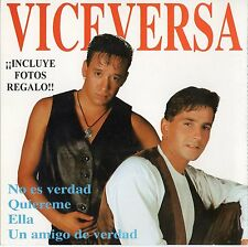 VICEVERSA / BERLIN  SPANISH CD + 2 PHOTOS / BEATO - CASTELLS - LANZAGORTA - UGAS