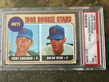 1968 TOPPS NOLAN RYAN ROOKIE RC METS #177 PSA 7 NM WELL CENTERED