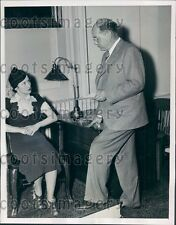 1937 H Hana Questioned by DA Thomas McDonald NY Montague Trial Press Photo