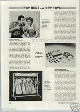1947 PAPER AD The Egg and I Movie Article Fred MacMurray Claudette Colbert Game