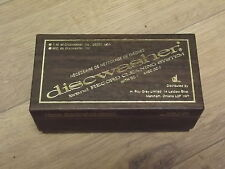 Discwasher record Cleaner pad with D3 bottle Original Made in USA NEW N.O.S