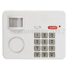 PIR Inalámbrico Movimiento Alarma Sensor Teclado Seguridad a Puerta Ventana Casa
