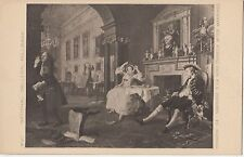 BF18091 hogarth marriage a la mode national galler painting art front/back image