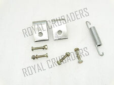 NEW LAMBRETTA CENTRE STAND SPRING WITH MOUNTING BRACKET AND NUTS