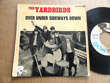 "DISQUE 45T DE THE YARDBIRDS  "" OVER UNDER SIDEWAYS DOWN """