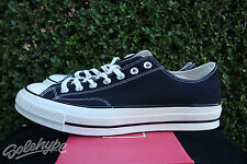 CONVERSE ALL STAR CHUCK TAYLOR CT 70 OX SZ 8 BLACK WHITE FIRST STRING 144757C