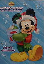 New Mickey Mouse Coloring Book ~ Merry Melodies ~ FREE SHIPPING