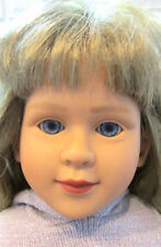 My Twinn Doll Ash Blond Hair Biolet Eyes 1997 Neck 2005 Body Clean Beautiful