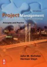Project Management for Business, Engineering, and Technology, Third Edition