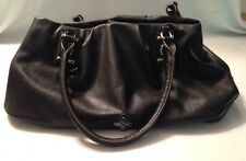 Simply Vera VERAWANG Purse Black Shopper Hobo Bag