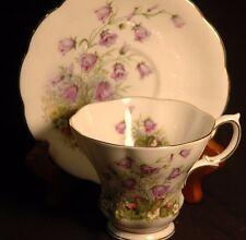 Royal Albert Lyric Sunnyside Series Juliet Blue Bells Cup and Saucer
