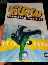 BOOKLET/MANUAL ONLY FOR FLOW URBAN DANCE UPRISING  PS2 (NO GAME) -  FREE POST