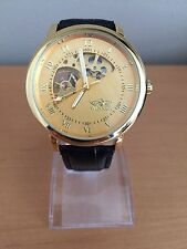 Top Brand Winner Tags Watch Men Luxury Gold Skeleton Hand Wind Mechanical Watch