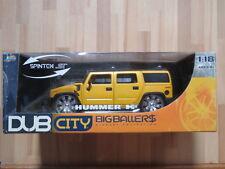 Jada DUB CITY BIG BALLERS 1:18 HUMMER H2 pressofusione modello