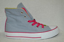 Converse Girl's CT 2 Fold Hi Top Lucky Stone Grey Sneakers -11/12/13/1/2/5