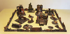 WARGAME Terrain Scenery ORK Hideout  LOT Hand-Crafted Warhammer 40K FREE Ship