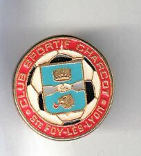 RARE PINS PIN'S .. FOOTBALL SOCCER CLUB TEAM TAAF CHARCOT ST FOY LES LYON 69 ~BN