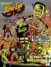Alter Ego #127 Aug 2014 TwoMorrows Busy Arnold's letters to Eisner & Iger