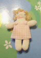 Kelly Krissy Friends Doll Clothes *Adorable Pink Checkered Rag Doll*