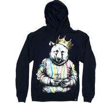 Rook Biggie Bear Hoody (M) Black