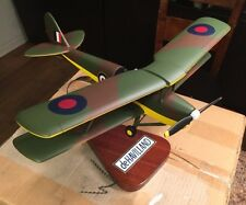 Pacific Aircraft Dehavilland 82A Tigermoth Raf Model Airplane Wow & Stand