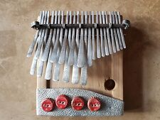 African Kalimba Mbira Thumb Piano tuned by Tiri Chiongotere to Nyamaropa B pitch