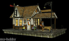 "HO Scale Built-&-Ready ""The Depot"" Structure w/LED - Woodland Scenics #BR5052"
