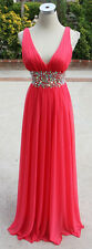 SEQUIN HEARTS Coral Prom Formal Party Gown 3 - $100 NWT