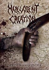 Malevolent Creation: Death From Down Under (2011, REGION 0 DVD New)