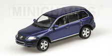 VW Touareg 2002 Blue  400052000 1/43 Minichamps