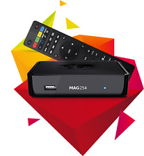 Mag 254 HD IPTV/OTT Ready STB with HDMI Ethernet and New Mini WIFI Dongle
