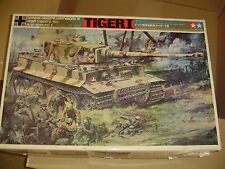 VINTAGE TAMIYA 1/25 TIGER I RC DOUBLE MOTORIZED TWIN ALL METAL GEARBOX MIB