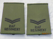 GB-Rangschlaufen:Corporal,Royal Air Force Regiment,RAF,Luftwaffe, oliv