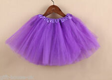 Girls Pettiskirt Kids Gauze Dance Tutu Skirt Ballet Fancy Dress Costume 2-7 year